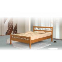 Кровать Венеция с элементами ковки