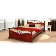 Кровать Золушка с элементами ковки