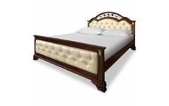 Кровать Лиора ковка задняя спинка низкая