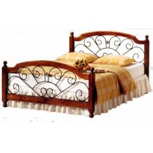 Кровать Прага с элементами ковки