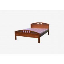 Кровать Афродита с резьбой №1