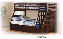 Кровать 2ух ярусная Эпиона №2