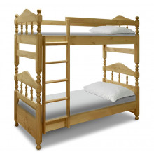 Кровать 2ух ярусная Точеная