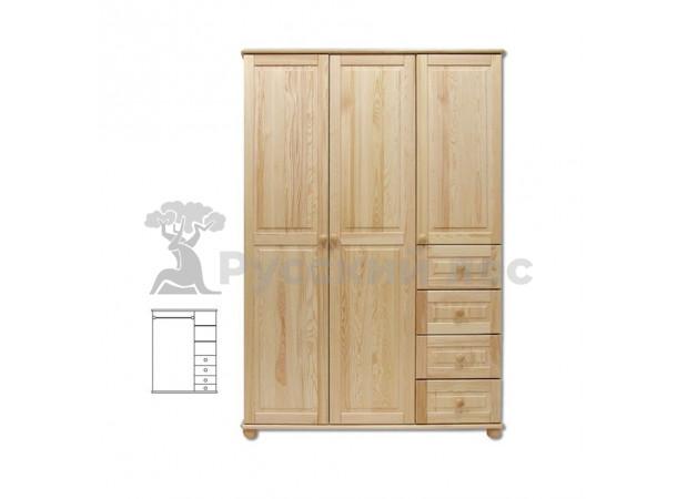 Шкаф трех створчатый Витязь №5