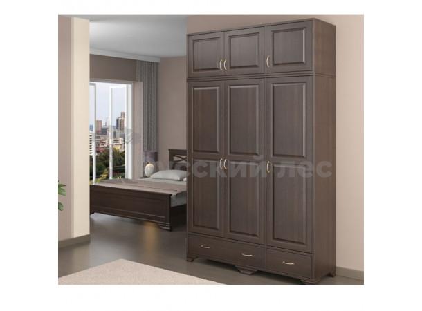 Шкаф трех створчатый Филенка №2 с антресолью